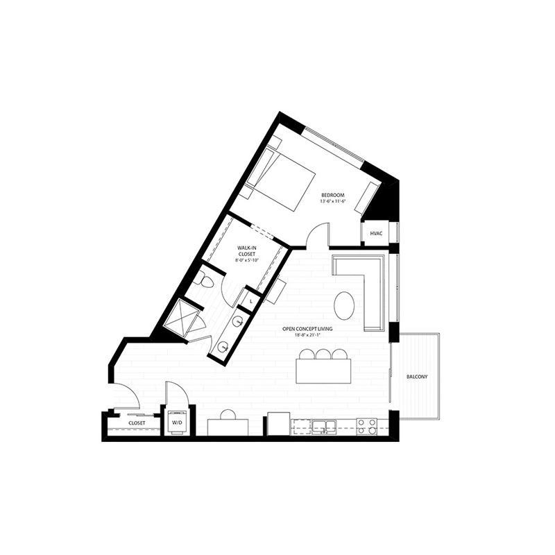 1 Bedroom Apartments for Rent